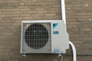 airco buitenunit daikin installatie