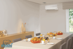 airco installeren eetkamer